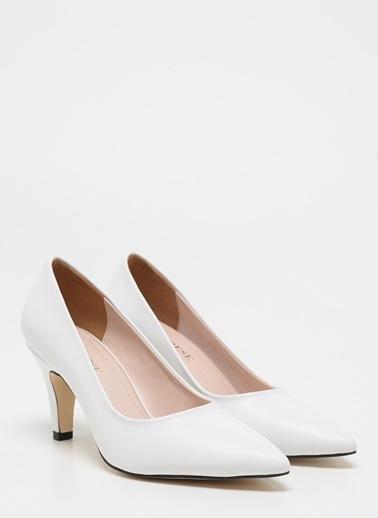 D by Divarese Klasik Ayakkabı Beyaz